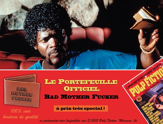 Le portefeuille en cuir officiel de pulp fiction prix sp cial - Porte monnaie pulp fiction ...