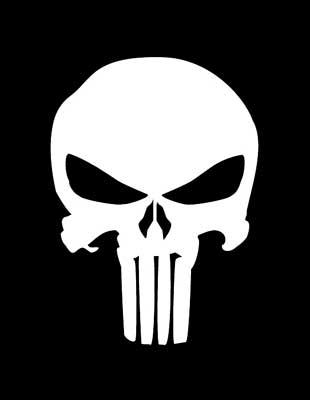 The punisher - Knight model Punisher